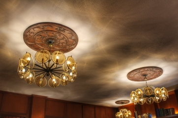 The chandeliers in the Malacañang of the North