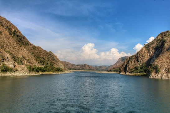 A view from the old Quirino Bridge on our way back to Manila